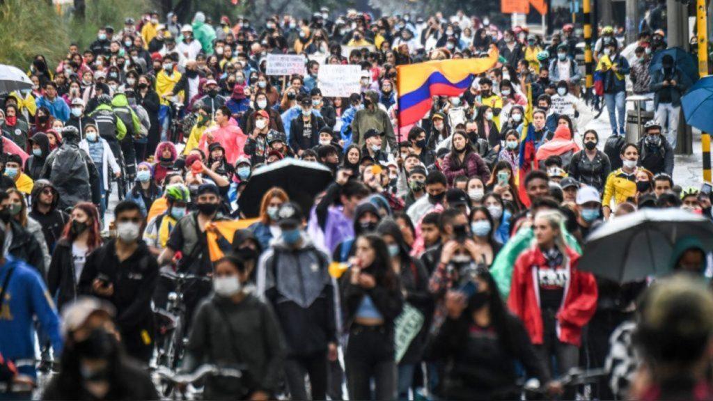 protestas en Colombia 2021